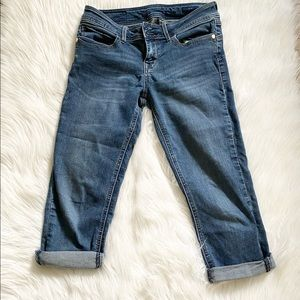 Seven7 cropped skinny jeans 27